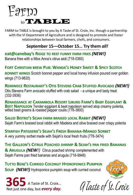WEB COPY RESTAURANTSInHouse Farm To Table Menu CardsSept Oct - Farmers table menu
