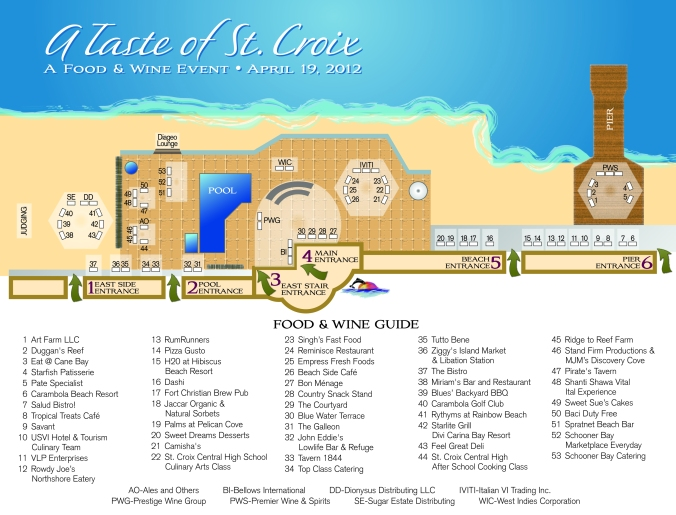 Taste Layout Map