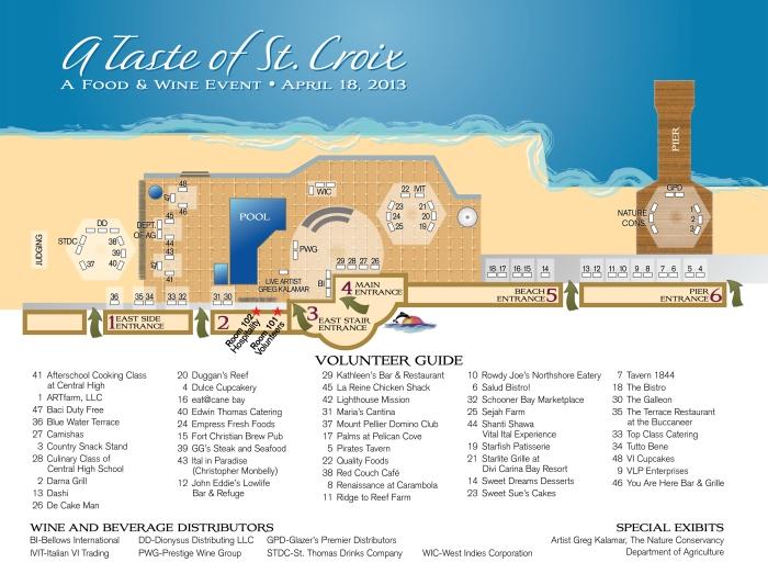 2013 Taste Map