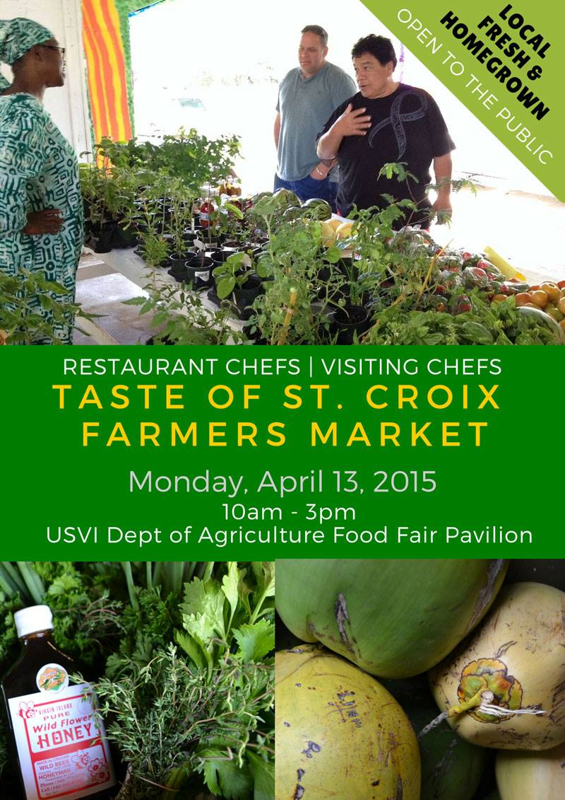 St croix food and wine experience a taste of st croix for Zion modern kitchen st croix