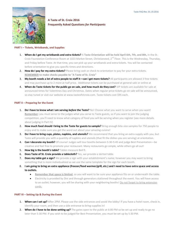 FAQ A Taste of St. Croix-page-001